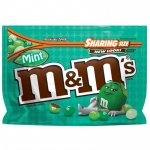 M&M'S Mint Dark Chocolate Candy Sharing Size Bag, 9.6 oz  M&MS