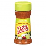 Mrs Dash Fiesta Lime Seasoning Blend (2.4oz)  68g Salt Free