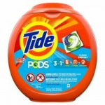 Tide Pods HE (3 in 1) CLEAN BREEZE 1.65KG / 72 CAP / 58OZ