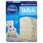 Pillsbury Moist Supreme  White Premium Cake Mix 432g