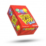 TOPPS  RING POP Twisted Assorted flavors. Individually wrapped. (24pcs per display unit)