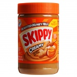 Skippy Creamy Roasted Honey Nut Peanut Butter 462g