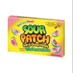 Sour Patch Kids Watermelon 99g (3.5oz) - CASE BUY OF 12 Packs