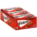 Trident Value Pack Cinnamon (Pack of 12) Sugarfree Gum  CASE BUY