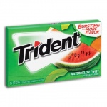 Trident Sugar Free Gum - Watermelon Twist  14 STICKS