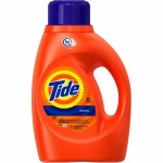 Tide High Efficiency Liquid Laundry Detergent, Original Scent, 50 fl oz (32 Loads)