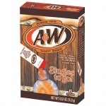 A&W Singles To Go Powdered Root Beer Drink Mix 0.53 oz (15g) 3 BOXES A & W Soda