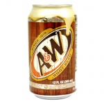 A&W Root Beer A & W American Soda 355ml Can A & W - 12 Pack Cans