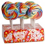ADAMS & BROOKS WHIRLY POP RAINBOW LOLLIPOP 42g Each - 24/Case
