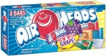 Airheads Assorted, (3.3oz) 94g Theater Box Air Heads