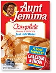Aunt Jemima Pancake Mix Original Complete 2lb 907g Case Buy