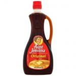 Aunt Jemima Original Pancake Syrup Large 1pt.8oz -710ml CASE BUY