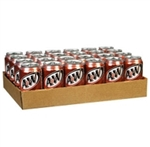 A&W Root Beer A & W American Soda 24 (355ml) Cans Case Buy