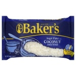 Bakers Angel Flake Coconut sweetened 14oz 396g bag  - 10 Packs CASE BUY Baker's
