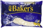 Bakers Angel Flake Coconut sweetened 14oz 396g bag Baker's