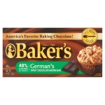 Bakers German's Sweet Chocolate Bar 4oz 113g