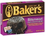 Bakers Bittersweet Baking Chocolate Square 6oz 170g