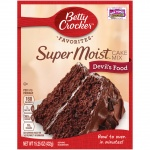 Betty Crocker Devils food 15.25oz 432g Cake Mix