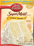Betty Crocker Super Moist Golden Vanilla Cake Mix 15.25oz 432g