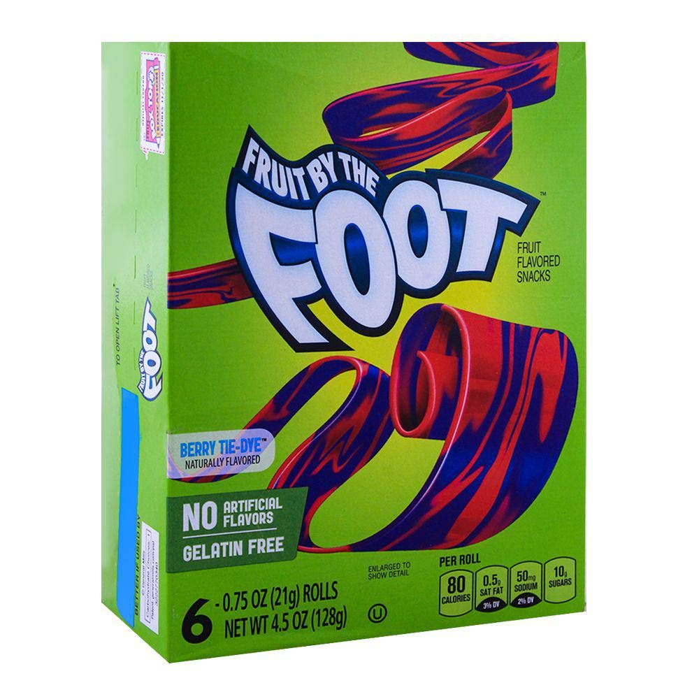 Fruit by the foot berry tie dye 128g