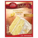 Betty Crocker Super Moist Lemon Cake Mix 15.25oz 432g - 12 Packs CASE BUY