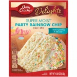 Betty Crocker Super Moist Party Rainbow Chip Cake Mix 15.25oz 432g
