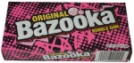 Bazooka Joe Bubble Gum  - 113g Boxes American Retro Gum