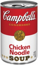 Campbells Condensed Chicken Noodle Soup 305g Campbell's