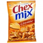 Chex Mix Cheddar Snack Mix (8.75oz).  248g Bag Savoury Snack