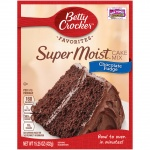Betty Crocker Favorites Super Moist Chocolate Fudge Cake Mix 15.25 oz.(432g) Box