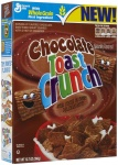 Chocolate Toast Crunch Cereal, (12.7 oz) 360g American Breakfast Cereal