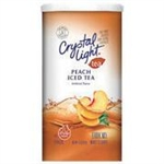 Crystal Light Peach Iced Tea 1.5oz 42g makes 12 Quarts