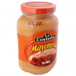 La Costena Mayonesa Con Chiles Chipotle  390g