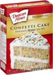 Duncan Hines Signature Moist Deluxe Confetti Cake Mix 468g 12 Packs CASE BUY