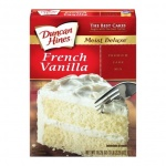 Duncan Hines Moist Delux French Vanilla Cake Mix 468g Case buy 12 packs