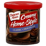 Duncan Hines Home Style Classic Chocolate Frosting 453g - 8 Packs - Case Buy