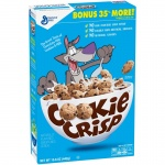 General Mills Cookie Crisp Chocolate Chip Cookie Flavored Cereal 15.6 oz  (442g) American Breakfast Cerea