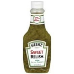 Heinz Sweet Relish 12.7oz 375ml Squeezable Bottle Condiment