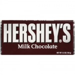 Hersheys Milk Chocolate  XL 4.4oz 124g Bar Hershey's