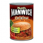 American Hunts Manwich Sloppy Joe Sauce 15oz 439g Can Hunt's