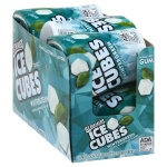 ice breakers ice cubes wintergreen 6  tubs sugar free gum