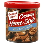 Duncan Hines Home Style Milk Chocolate Frosting 16oz 453g