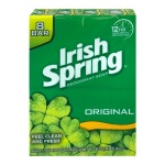 Irish Spring Soap Deodorant Original 8 BAR X 113G VALUE PACK