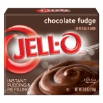 Jell-o Chocolate Fudge Instant Pudding 110g Jello Jell o