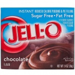 JELL-O Sugar-Free Fat Free Instant Chocolate Pudding 39g (1.4oz) Jello