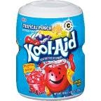 Kool Aid Tropical Punch Drink Mix Makes 8 Quarts