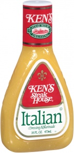 Ken's Steak House Italian dressing & marinade 16fl
