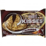 Hershey's Kisses wth Amonds Milk Chocolate Large 311g (11oz) Bag