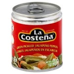 La Costena Red Pickled  Sliced Jalape̱o Peppers (199g) MEXICAN