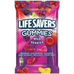 Life Savers Gummies Wild Berries 7oz 198g American Candy Lifesavers